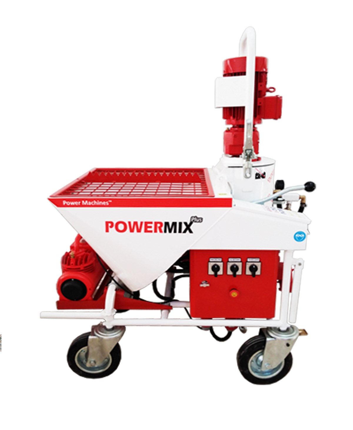 Powermix Plus Alçı Sıva Makinesi
